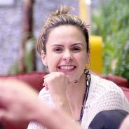 """Do """"BBB16"""", Ana Paula chora no """"Mais Você"""", comenta brigas com Renan e amizade com Ronan e Munik"""