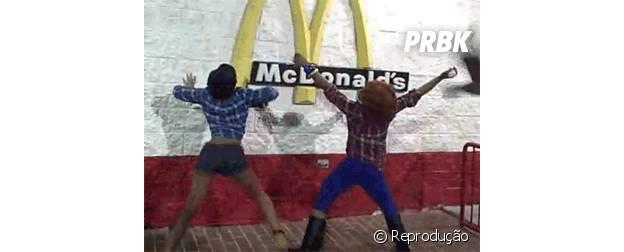 Twerk no McDonald's
