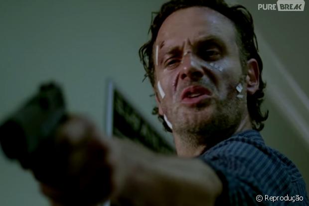 """Em """"The Walking Dead"""", Rick terá batalha com Negan no final da 6ª temporada!"""