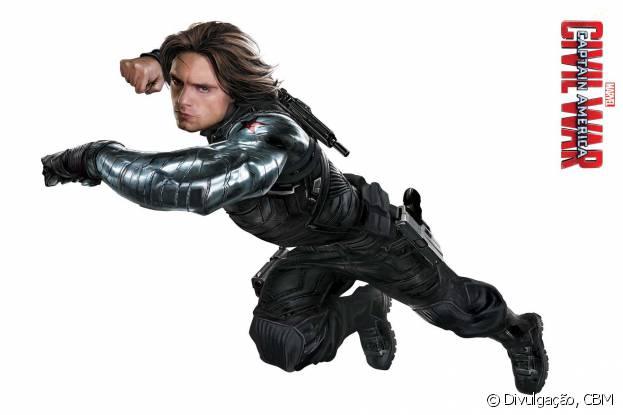 """Sebastian Stan interpreta o Soldado Invernal em """"Capitão América 3: Guerra Civil"""""""