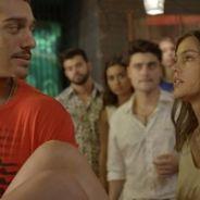"""Novela """"Malhação"""": Alina (Pâmela Tomé) encontra Uodson (Lucas Lucco) com outra no colo!"""