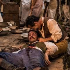 """Novela """"Velho Chico"""": Ernesto Rosa (Rodrigo Lombardi) é assassinado com tiro de homem misterioso!"""