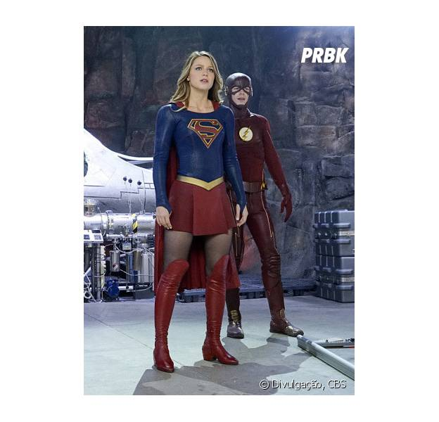 """Em """"The Flash"""" e """"Supergirl"""", confira tudo o que vai rolar no crossover!"""