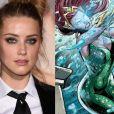 """Amber Heard deve interpretar a guerreira Mera, em """"Aquaman"""""""
