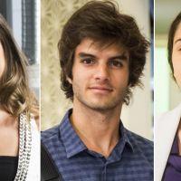 """Daniel Blanco, de """"Totalmente Demais"""", revela futuro do triângulo entre Fabinho, Cassandra e Débora"""