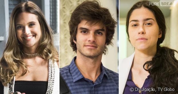 """Daniel Blanco adianta futuro de Fabinho, Cassandra e Débora em """"Totalmente Demais"""""""