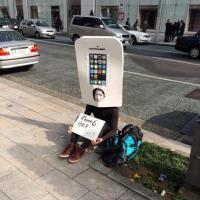 Japonês já está na fila do iPhone 6; aparelho não foi sequer anunciado