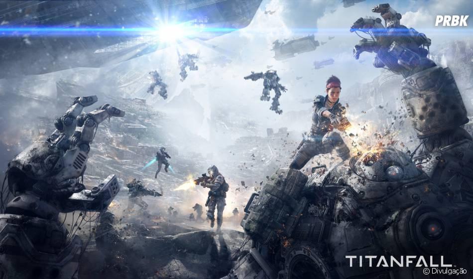 """""""Titanfall"""" é um dos jogos mais esperados do ano de 2014"""