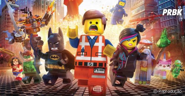 """""""Uma Aventura LEGO"""" levou os bloquinhos para as telonas este ano"""