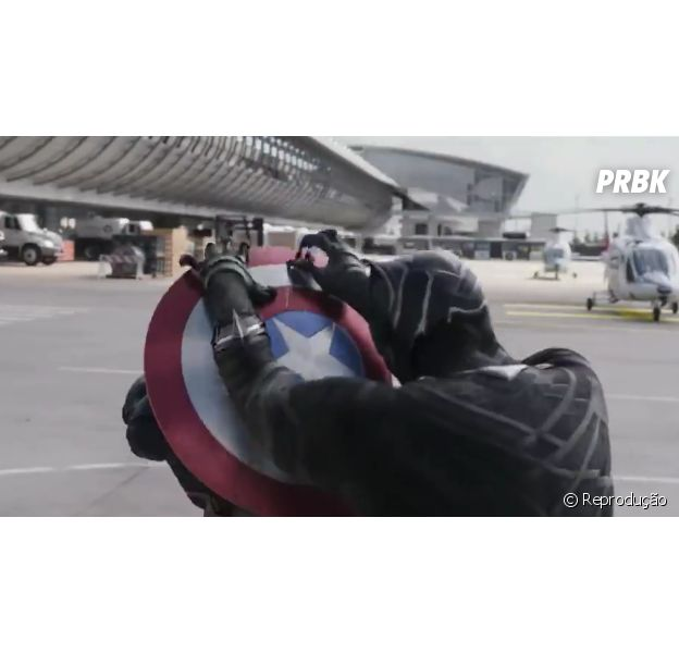 """Novo comercial de """"Capitão América 3: Guerra Civil"""" mostra o Pantera Negra (Chadwick Boseman)"""