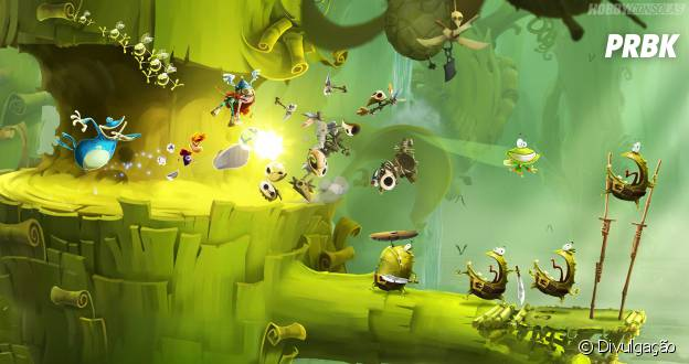 "É a vez de ""Rayman Legends"" aterrissar no PS4"