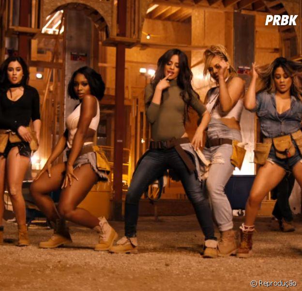 "Fifth Harmony comemora primeiro top 10 do grupo na Billboard, com ""Work From Home"""
