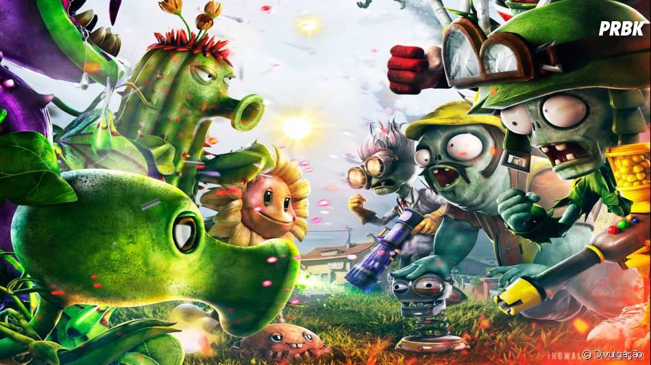 plants vs zombies garden warfare é um jogo de tiro carregado de bom