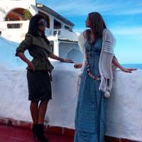 """Marina Ruy Barbosa, de """"Totalmente Demais"""", chega ao Uruguai para gravar cenas da novela! Veja fotos"""