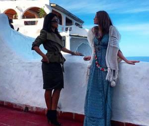"""Marina Ruy Barbosa e Juliana Paes em cena de """"Totalmente Demais"""" gravada no Uruguai"""