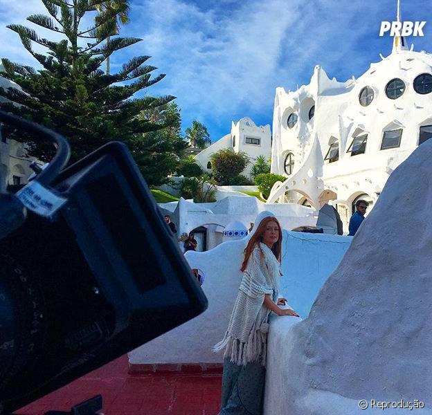 """No Uruguai gravando """"Totalmente Demais"""", Marina Ruy Barbosa posta fotos da viagem no Instagram"""