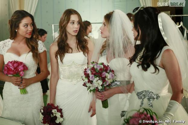 "Em ""Pretty Little Liars"", as meninas se vestirão de noivas!"