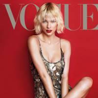 Taylor Swift como você nunca viu! Cantora estrela nova capa da Vogue e exibe visual super sexy