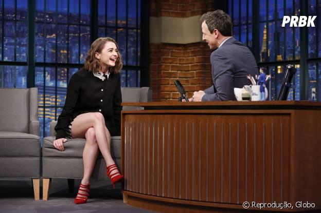 """Maisie Williams, a Arya de """"Game of Thrones"""", fala sobre 6ª temporada da série"""