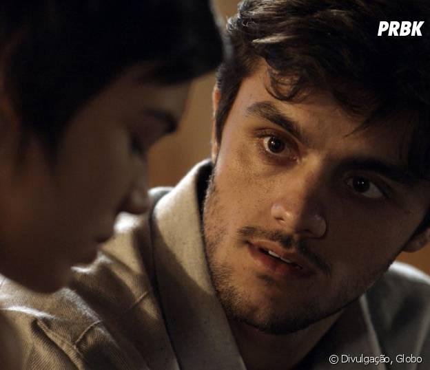 """Leila (Carla Salle) termina com Jonatas (Felipe Simas), em """"Totalmente Demais"""""""