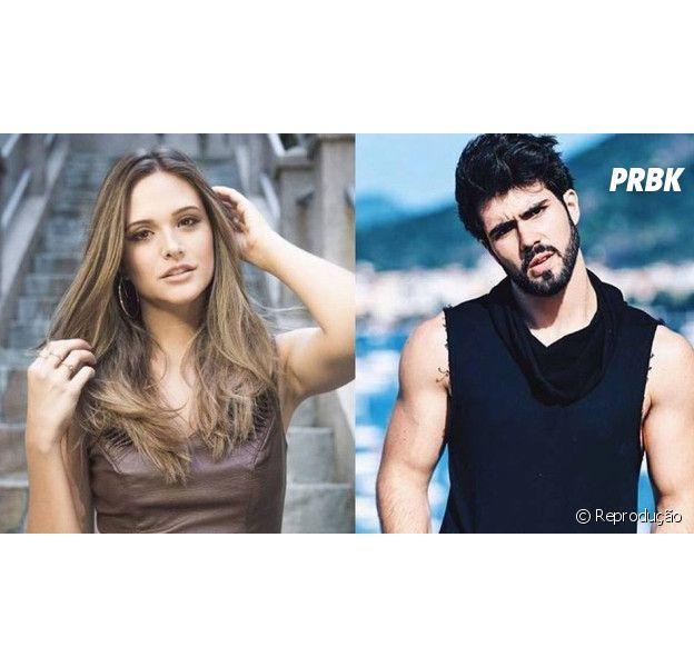 """Juliana Paiva, de """"Totalmente Demais"""", e Juliano Laham estariam se conhecendo melhor, segundo site"""