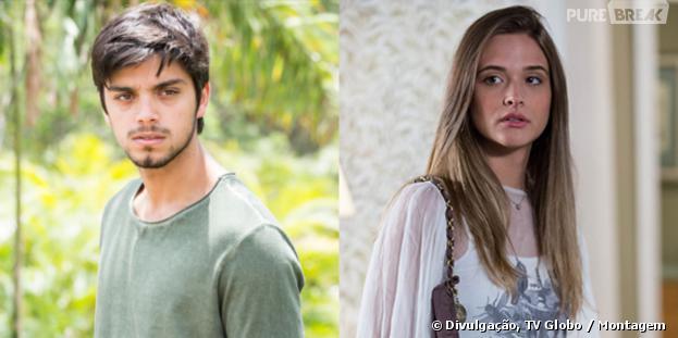 """Marlon (Rodrigo Simas) e Lili (Juliana Paiva) formam o casal favorito de """"Além do Horizonte"""""""