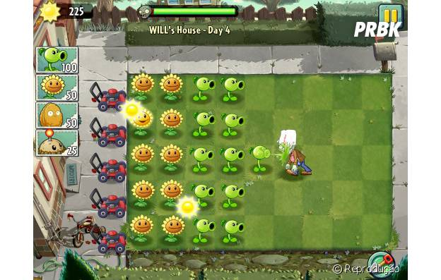 """Plants VS. Zombies"""