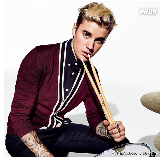 """Justin Bieber agora conta com uma verdadeira coleção de camisas personalizadas da """"Purpose Tour"""""""
