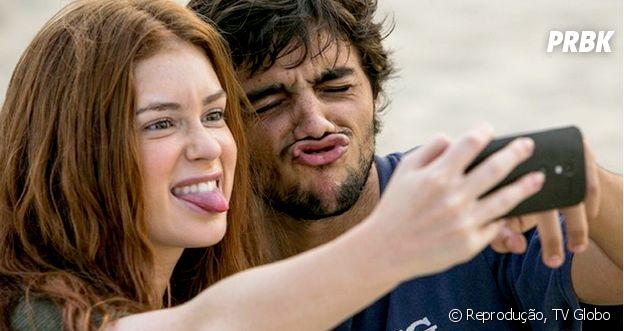 """Relembre no Purebreak a história de Jonatas (Felipe Simas) e Eliza (Marina Ruy Barbosa) em """"Totalmente Demais"""""""