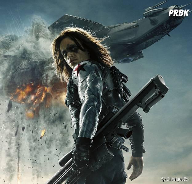 """De """"Capitão América 3: Guerra Civil"""":Bucky (Sebastian Stan) está dando o que falar no Twitter!"""