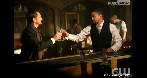 "Marcel (Charles Michael Davis) noFrench Quarter, em""The Originals"""
