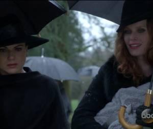 """Em """"Once Upon A Time"""",Zelena (Rebecca Mader) deu para a sua filha o nome de Robin!"""
