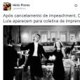 Dilma Rousseff e o ex-presidente Lula comemorando?