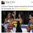 Dilma Rousseff e o vice Michel Temer estão em verdadeiro pé de guerra