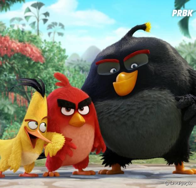 """""""Angry Birds - O Filme"""" foi lançado na última quinta-feira (12)"""