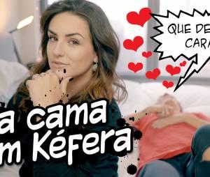 """Christian Figueiredo, do """"Eu Fico Loko"""", e Kéfera Buchmann fazem novo vídeo juntos"""