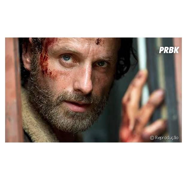 """Em """"The Walking Dead"""", Rick (Andrew Lincoln) pode morrer? Criador da série afirma que todos os personagens correm esse risco!"""