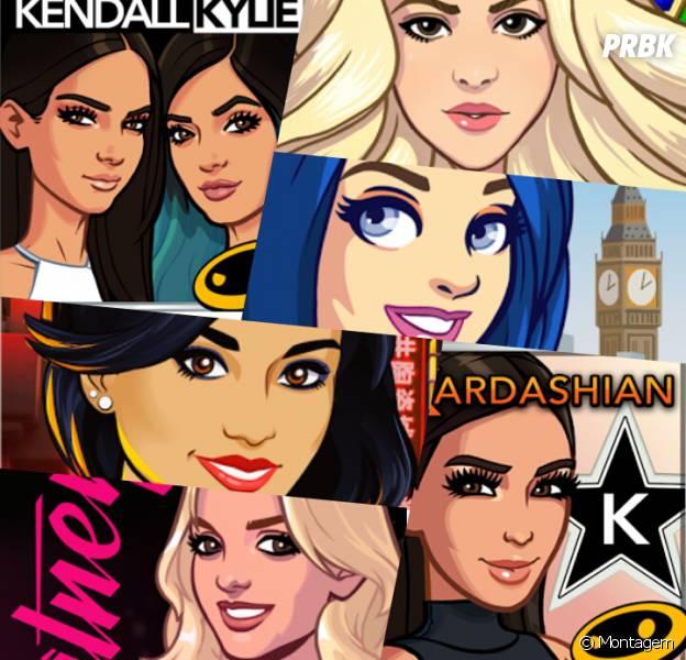 Britney Spears, Shakira, Kim Kardashian são algumas celebridades que viraram games!