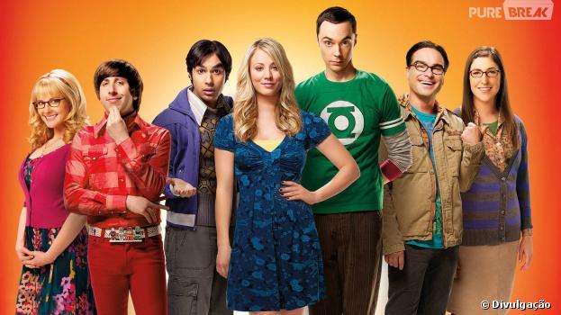 """""""The Big Bang Theory"""" foi renovada para mais três temporadas pela CBS"""