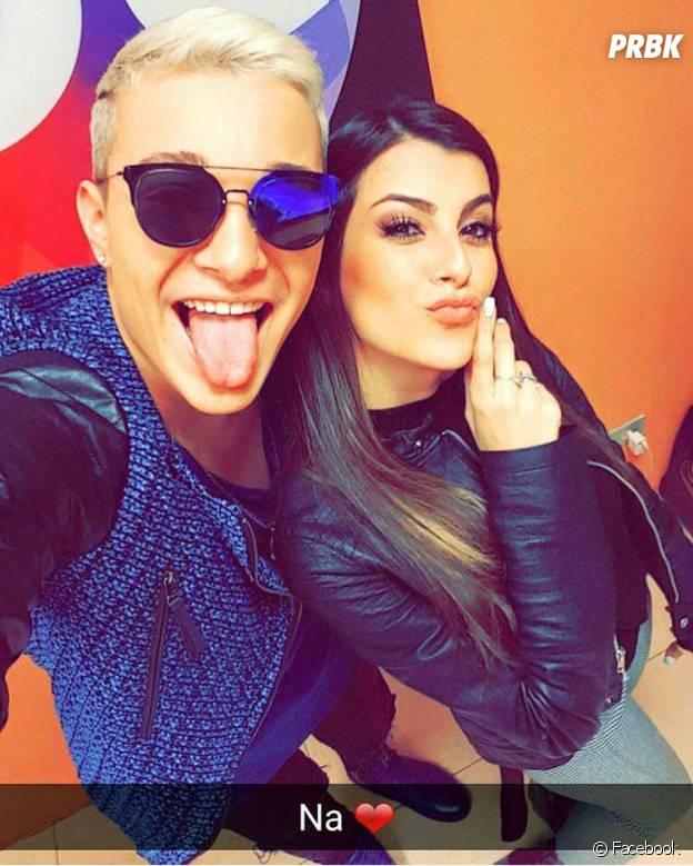 """MC Gui, do hit """"Vai Começar a Ousadia"""", e Nah Cardoso fazem selfie juntos!"""
