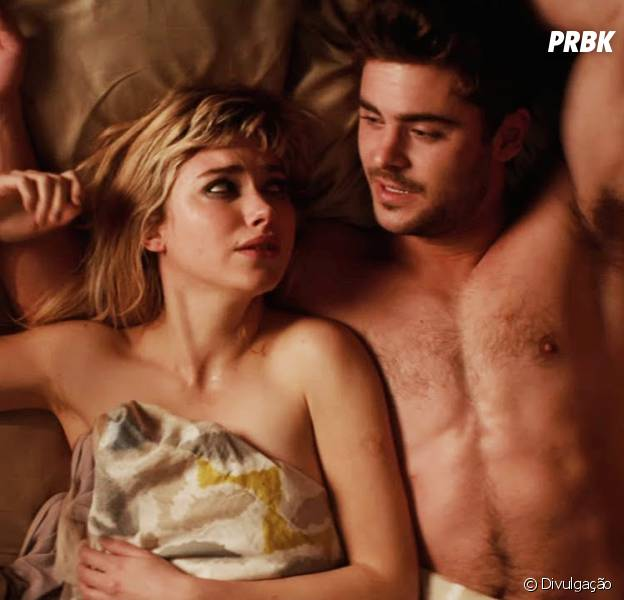 "Zac Efron e Imogen Poots em cena de ""Namoro ou Liberdade"""