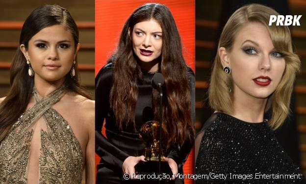 Selena Gomez, Lorde e Taylor Swift