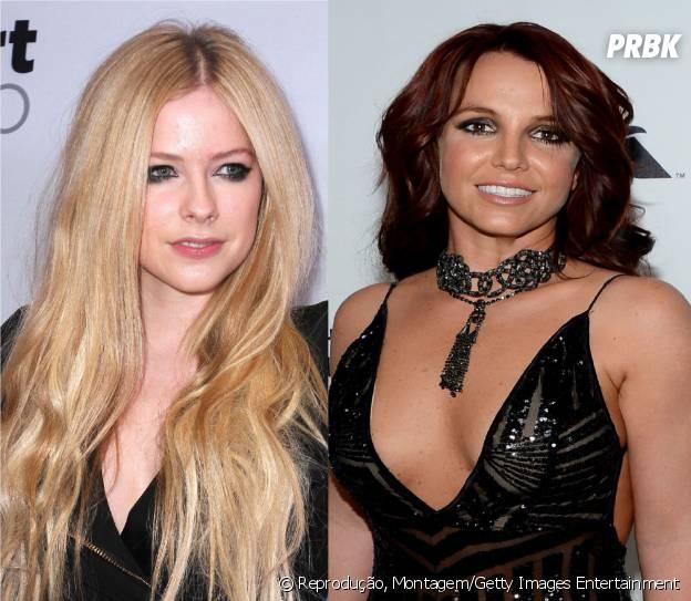 Avril Lavigne e Britney Spears