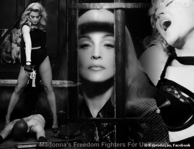 Finalmente a cantora Madonna revelou o que é o tão misterioso projeto secreto: 'Meu objetivo é mostrar através do 'Secret Project Revolution' meu compromisso criativo para inspirar a mudança em todo o mundo através da expressão artística'