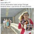 Imagens exclusivas do momento em que Portugal pegou os nossos memes!