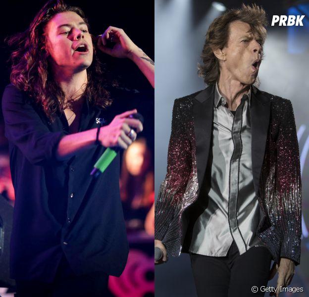 Harry Styles, do One Direction, está cotado para interpretar Mick Jagger nos cinemas!