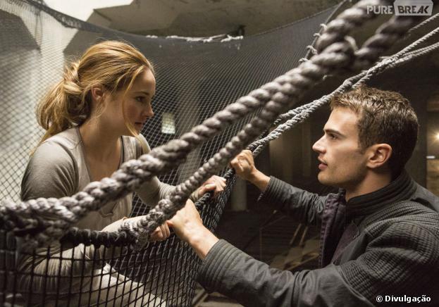 """Shailene Woodley estrela """"Divergente"""" ao lado de Theo James"""