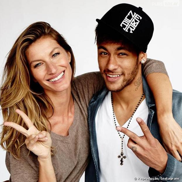 Neymar e Gisele Bündchen se unem para ser capa de revista em junho, mês da Copa do Mundo aqui no Brasil
