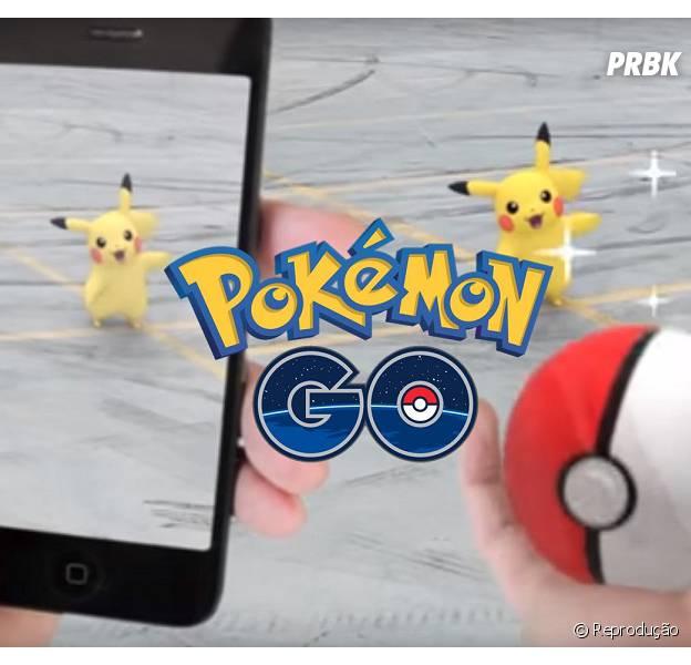 """""""Pokémon Go"""" é mais usado que o Facebook"""