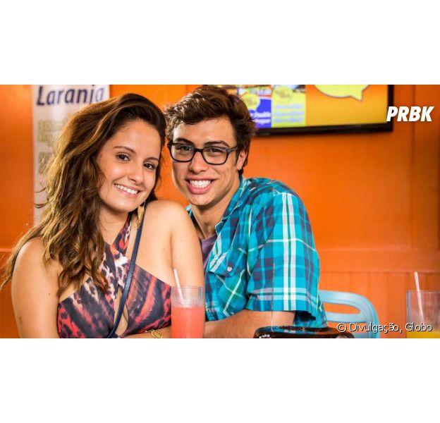 """Em """"Malhação"""", Filipe (Francisco Vitti) e Nanda (Amanda de Godoi) conversam após morte do rapaz"""